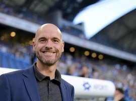 Erik ten Hag troca o FC Utrecht pelo Ajax. EFE/Archivo