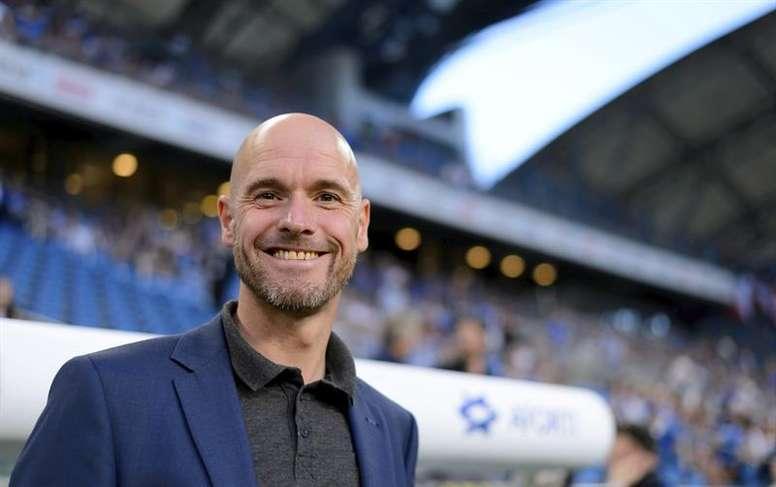 El técnico del Ajax 'copiará' el método de Guardiola ante el Madrid. EFE/Archivo