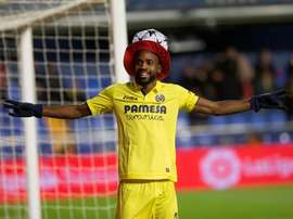Bakambu has become the most expensive African footballer ever. EFE/Archivo