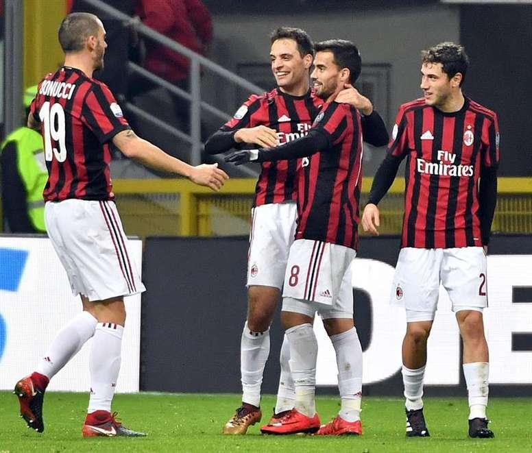 El Milan tiene la intención de reforzar su plantilla. EFE/Archivo