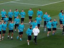 Voici le onze que pourrait réserver Zidane. EFE