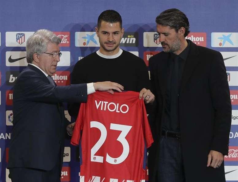 Cerezo habló sobre las incorporaciones de Vitolo y Costa. EFE
