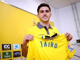 Samperio ya ha sido presentado como jugador de Las Palmas. EFE