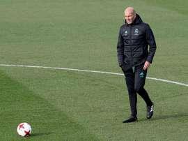 Zidane confia em Nacho. EFE