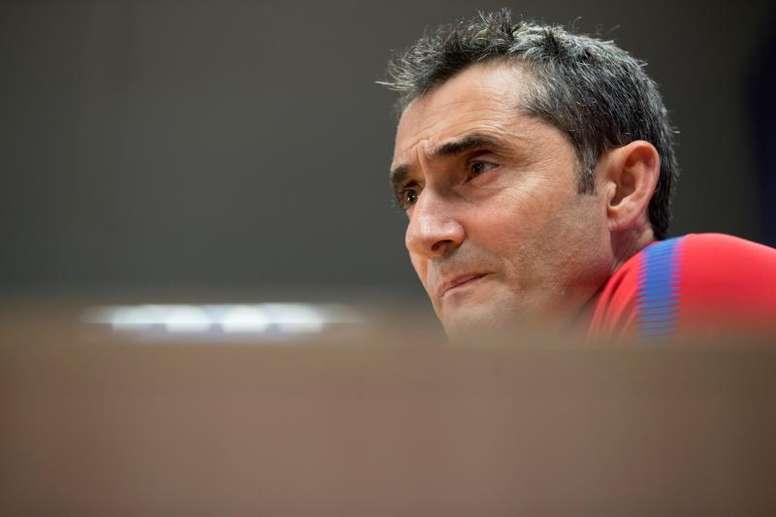 Valverde s'est montré catégorique au sujet du Real Madrid. EFE