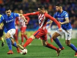 L'Atlético Madrid reçoit Lleida. EFE