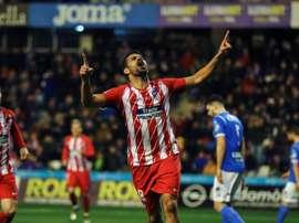 Diego Costa, de volta ao Atlético de Madrid e à competição. EFE
