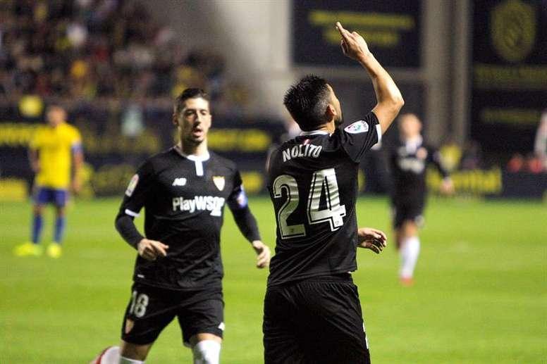 El Celta quiere a Nolito, pero el Sevilla pone trabas. EFE