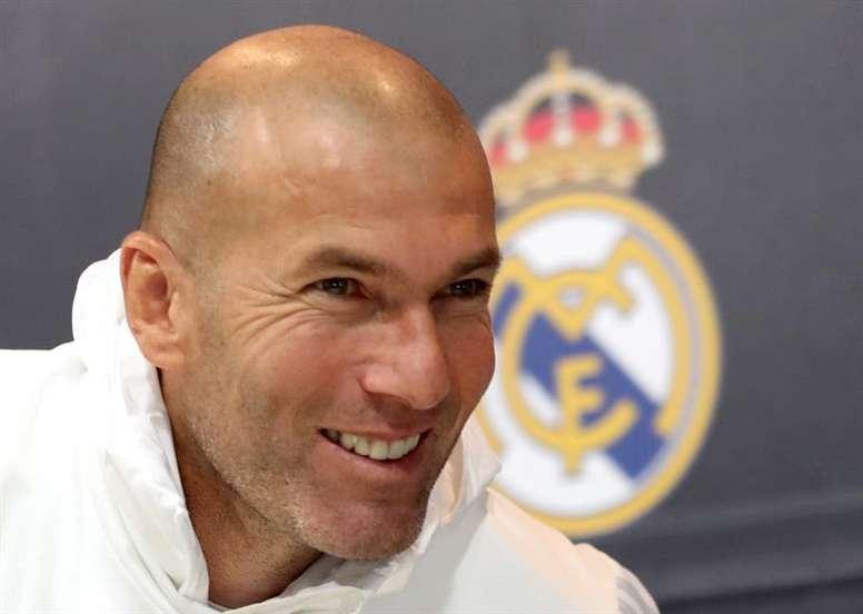Zidane sigue imparable en la Champions. EFE/Archivo