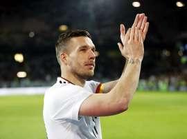 Podolski voltará a Köln. EFE