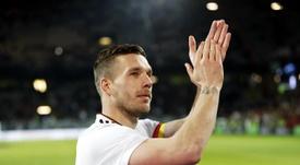 Podolski volverá al Köln. EFE/Archivo