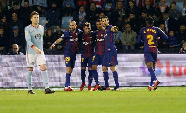 Barcelone espère remporter la rencontre. EFE