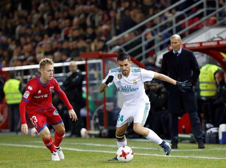 Zidane apenas cuenta con Ceballos. EFE