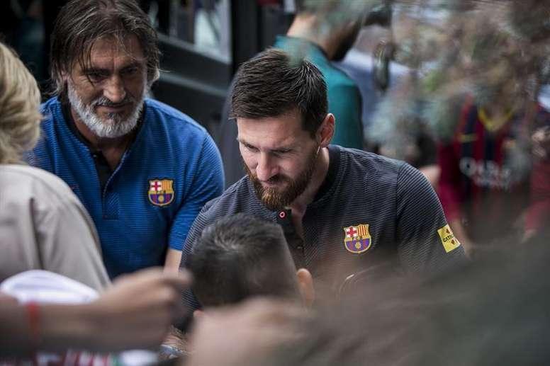 El Barça podría haber ayudado a la Fundación Messi. EFE/Archivo