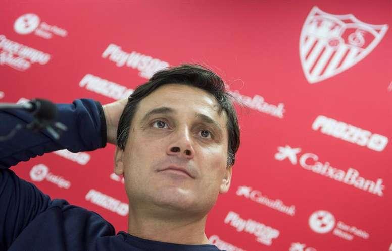 Montella es muy optimista con el Sevilla. EFE