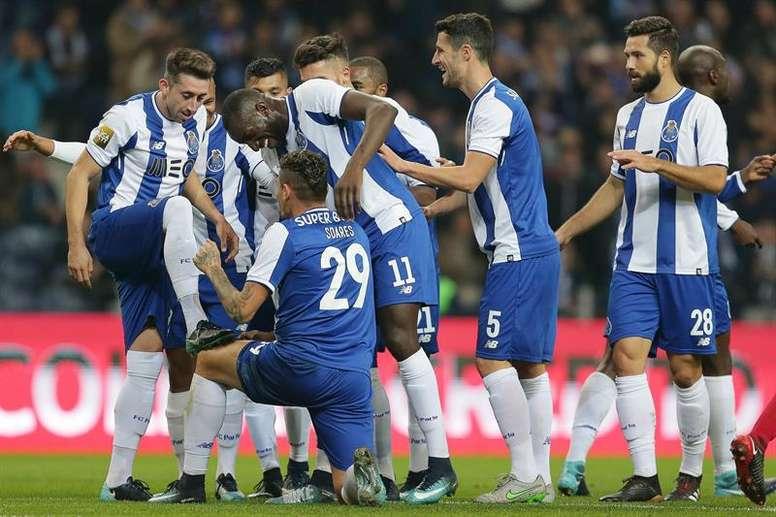 O FC Porto está nas meias-finais da Taça de Portugal. EFE