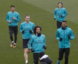 Cristiano Ronaldo, l'ange gardien de Moha Ramos. EFE