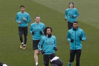 Moha Ramos fait ses adieux au Real Madrid. afp