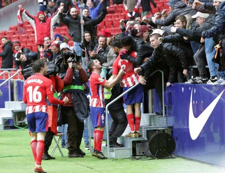 Diego Costa s'est illustré pour son premier match en Liga cette saison. EFE