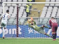 Pulgar falló un penalti... y el partido fue otro. EFE