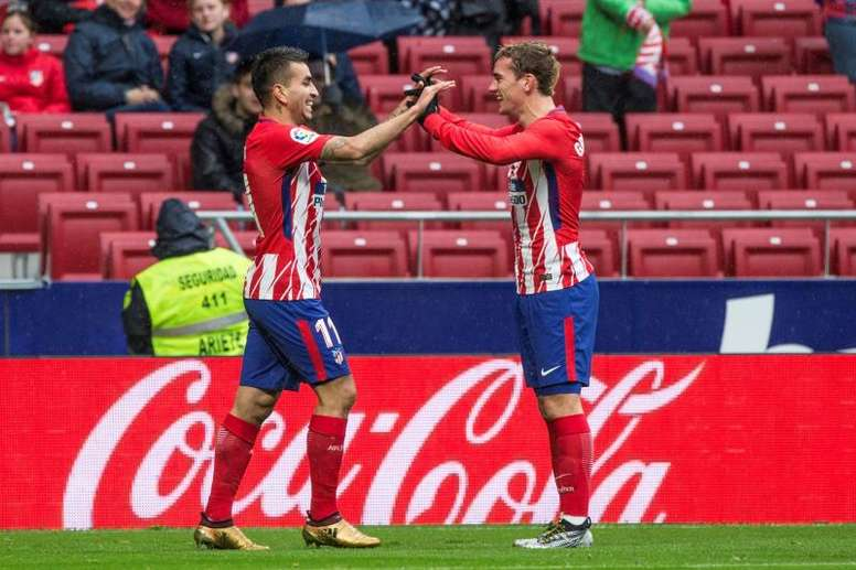 El Atlético marcha segundo en la clasificación. EFE