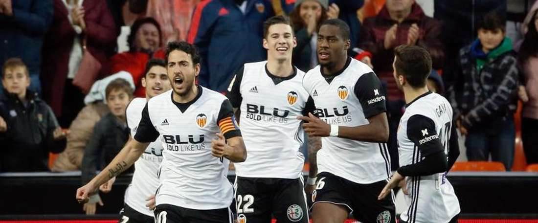 Parejo apontou o gol decisivo do triunfo valenciano. EFE