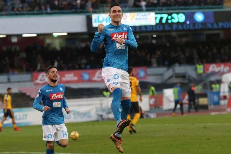 Napoli ganha e volta ao primeiro lugar. EFE
