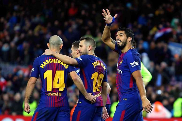 Luis Suárez n'a pas encore marqué de but à Anoeta. EFE