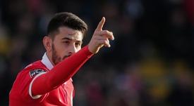 Remontada, goleada y liderato para el Benfica. EFE
