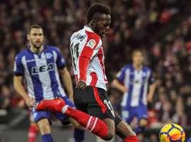 Williams devrait prolonger son contrat avec les Basques. EFE