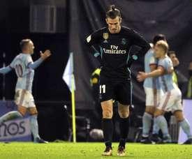 Bale bem tentou dar a vitória ao Real Madrid, mas foi praticamente o único... EFE