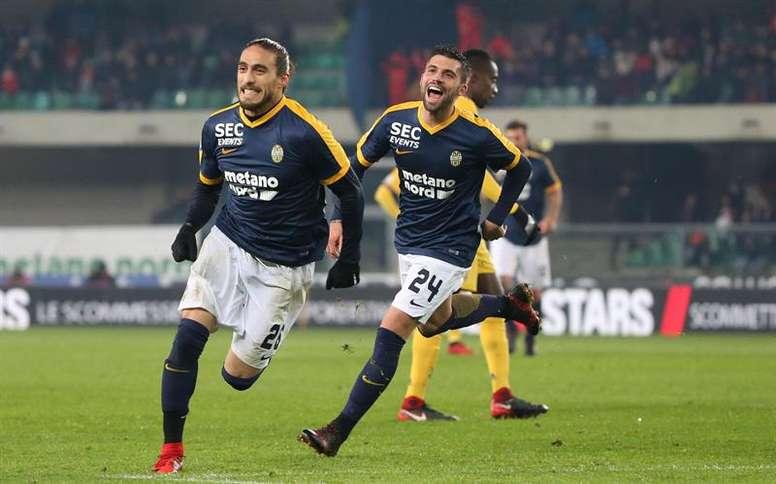 Cáceres vuelve a un equipo importante de Italia. EFE