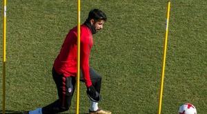 El Lagarto de Diego Costa venció al Socorrense. EFE