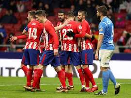Atletico breeze into Copa del Rey quarters. EFE