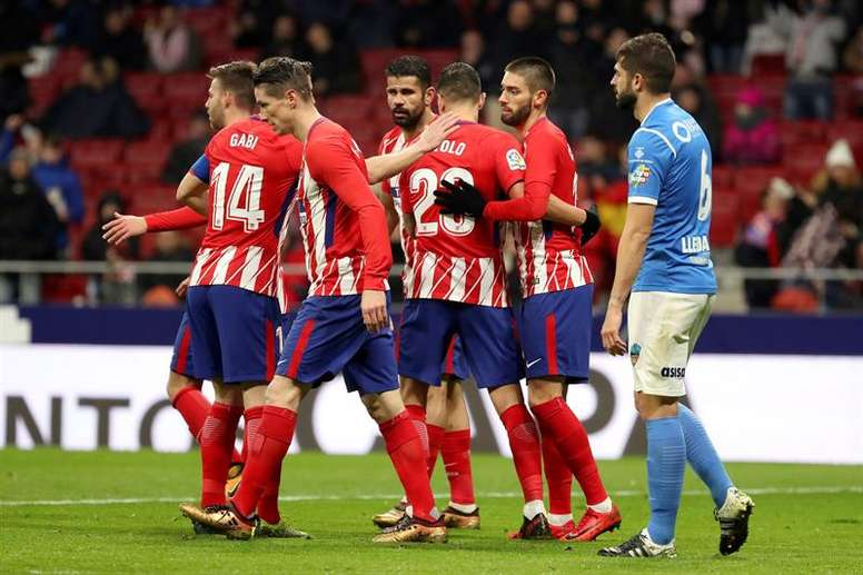 Atletico breeze into Copa del Rey quarters. EFE