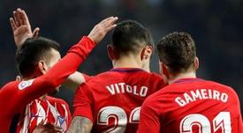Vitolo está há pouco mais de uma semana em Madri, mas já vai regressar a Sevilla. EFE