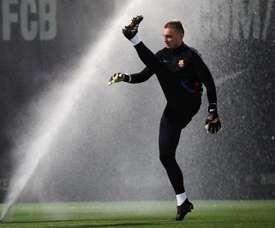 Le gardien cherche une place de titulaire loin du Camp Nou. EFE