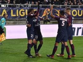Las perlas del club parisino tendrán minutos en la Liga Portuguesa. EFE
