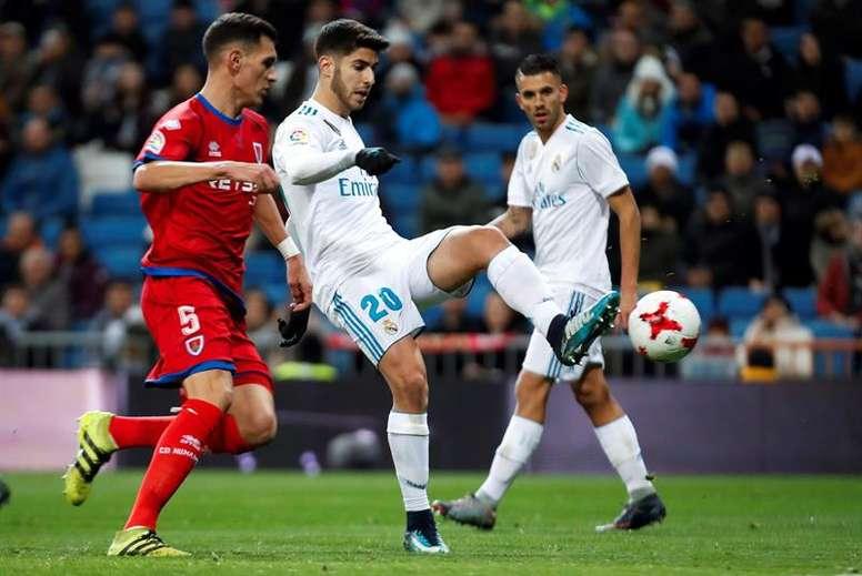 El Real Madrid pasa a cuartos de final incapaz de vencer en el Bernabéu. EFE