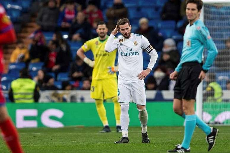 Nacho no supo explicar qué le sucede al Real Madrid este curso. EFE/Archivo
