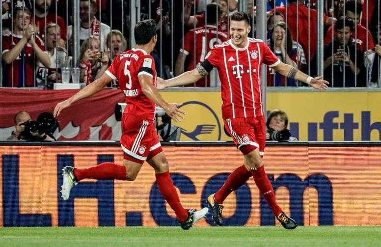 El Bayern abre la segunda ronda de la Bundesliga. EFE