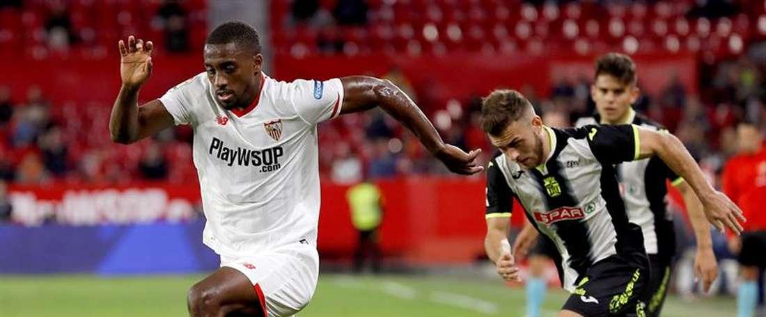 O Alavés bateu o Sevilla por 1-0. EFE