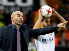 El técnico ha convocado a ambos jugadores para la cita ante el Málaga. EFE