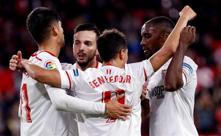 El Sevilla sigue rastreando el mercado. EFE