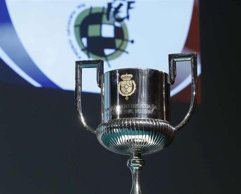 Sorteo de los cruces de cuartos de Copa del Rey 2019. EFE