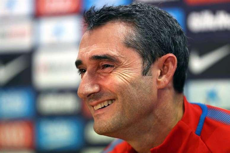 Valverde habló sobre la eliminatoria ante el Espanyol. EFE/Archivo