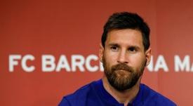 Messi se pronunció tras vencer a la Real Sociedad. EFE/Archivo