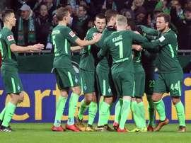O Bremen e o Hertha não sairam do nulo, esta noite. EFE