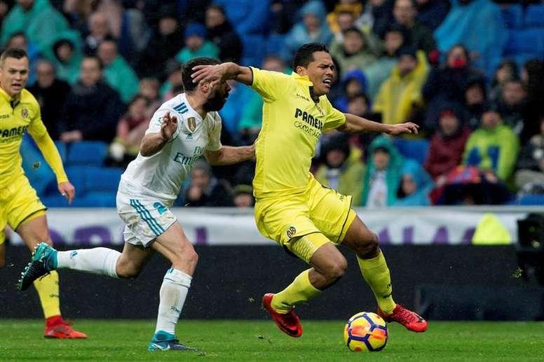 Carvajal no le encuentra explicación al mal momento del Madrid. EFE