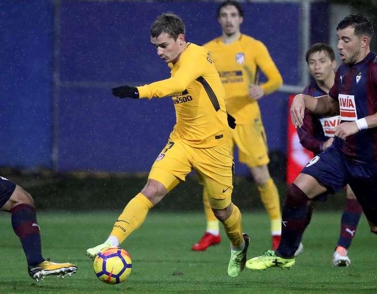 El Atlético echa el telón a la primera vuelta sin penaltis a favor. EFE